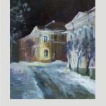 Витебск ул.Суворова.Ночная улица