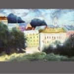 Витебск.Весенний старый город
